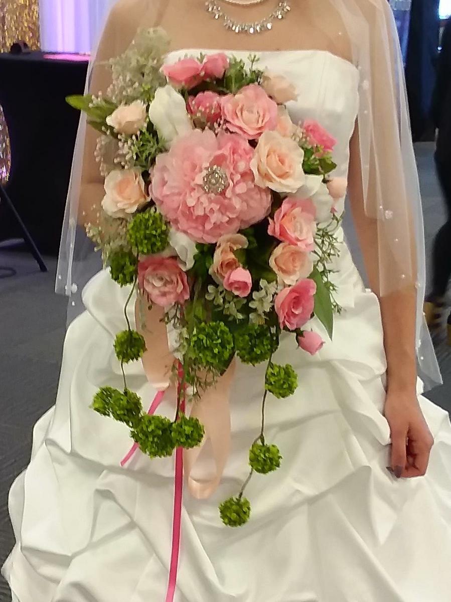 stargazer lily blush garden bouquet - Blush Garden Rose Bouquet