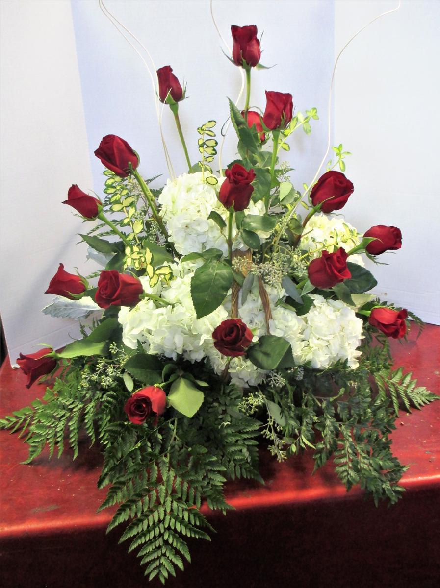 Sympathy bocks floral creations custom casket spray with fish theme izmirmasajfo