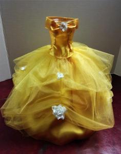 Belle's Dress Bouquet  Vase