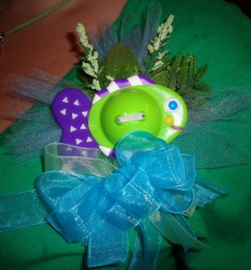 Baby Shower Under the Sea    Pin on Corsage