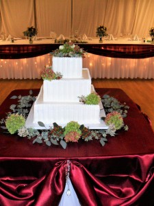 Cake Flowers Antique Hydrangea