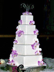 Cake Flowers Orchids