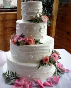 Cake Flowers Ranunculus & Succulent
