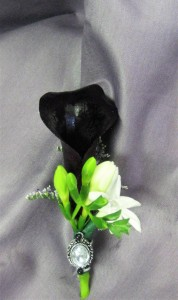 Dark Calla Lily & Gem