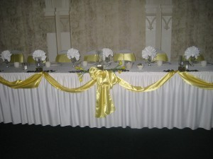 Decorated Headtable