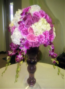 Elegance with Orchids Draping
