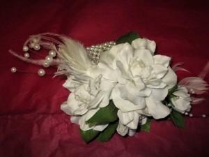 Gardenia & Feathers