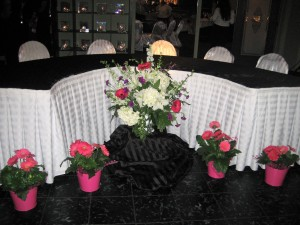 Headtable Decorated