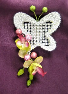 Butterfly & Orchid Corsage