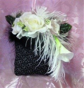 Flowers & Feathers added to a Purse