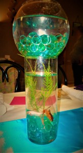 Live Fish Centerpiece