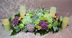 Mr & Mrs Tablescape