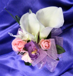 Orchids & Calla Lilies