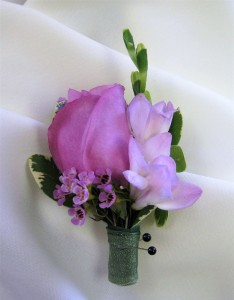 Rose Bud & Freesia