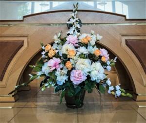 Altar Arrangement Silk Rental