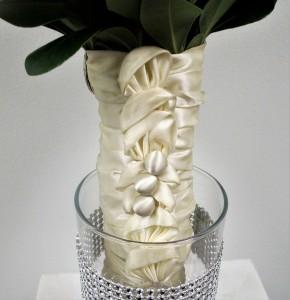Specialty Wrap made from Grandmas Dress Material